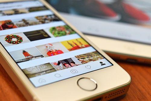 instagram cell phone tablet