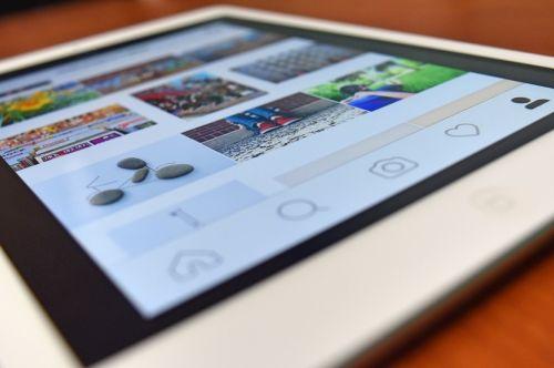 instagram tablet device