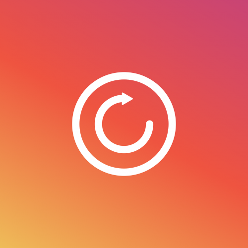 instagram reload icon