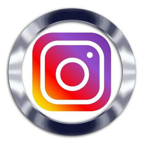 instagram social media symbol