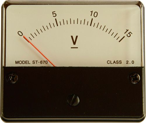 instrument voltage volt
