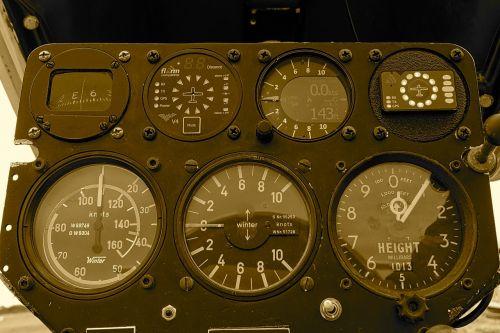 instruments dashboard dials