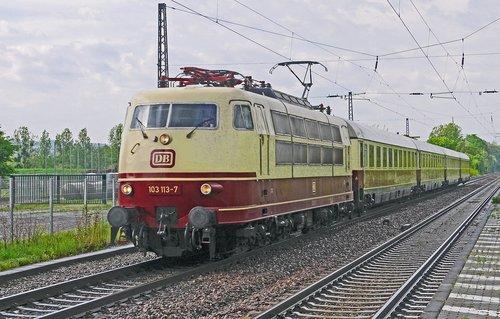 intercity 1969  ic-train  railway