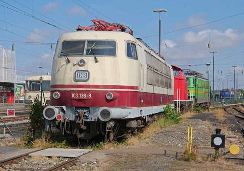 intercitylok  quick driving locomotive  railway museum