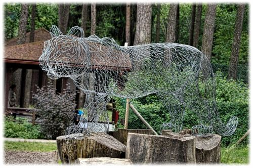 Interesting Tiger Sculpture