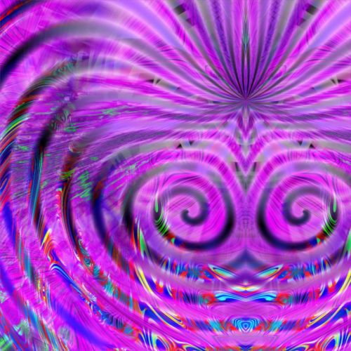 Interesting Violet Spirals