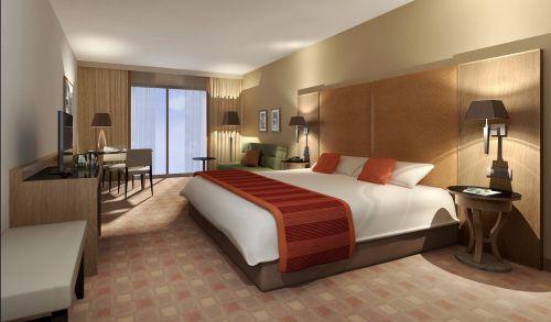 interior hotel rendering