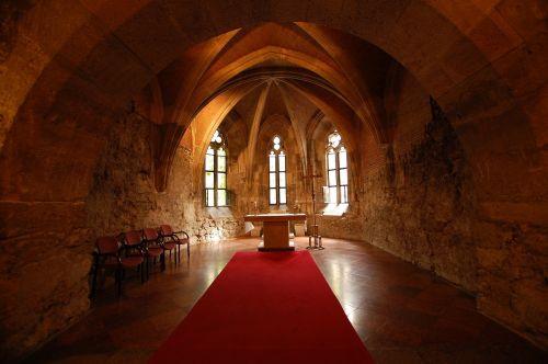 interior church buda castle palace