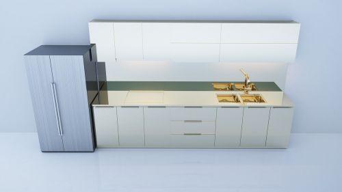 interior design kitchen 3d