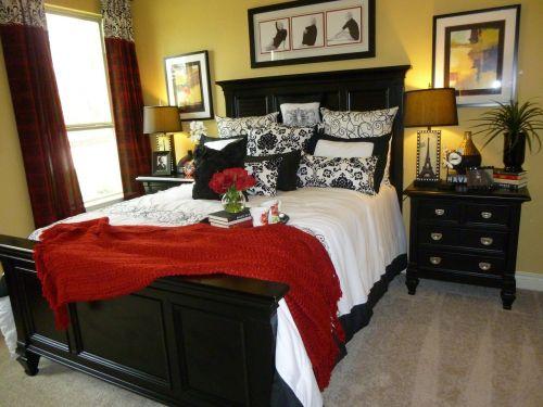 interior design bedroom bed