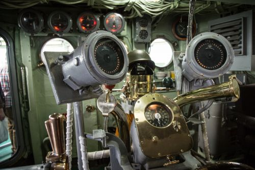 Interior Of The USS Intrepid