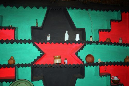 Interior Wall Decorated