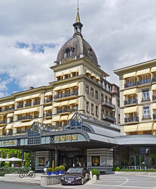 interlaken  grand hotel  victoria jungfrau