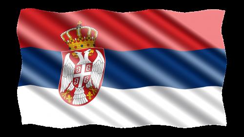 international flag serbia