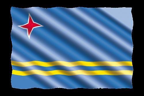 international flag aruba