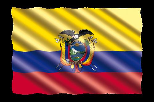 international flag ecuador