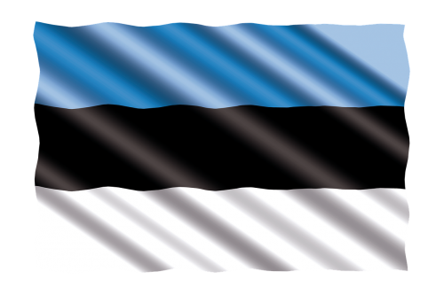 international flag estonia