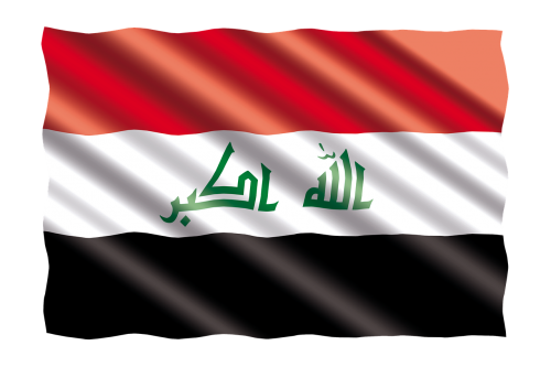 international flag iraq