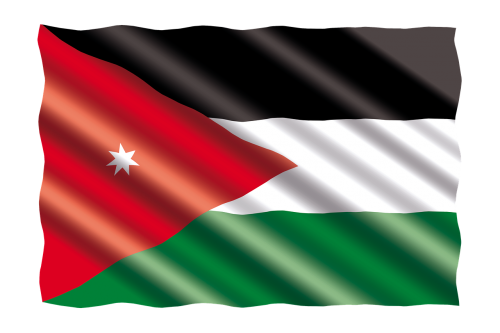 international flag jordan