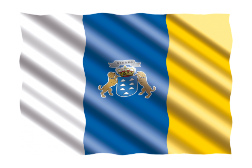 international flag canary islands