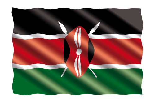 international flag kenya