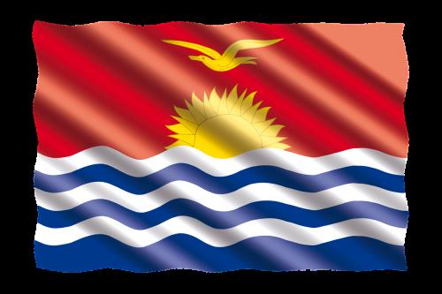 international flag kiribati