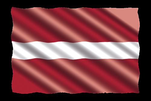 international flag latvia