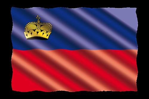 international flag lichtenstein