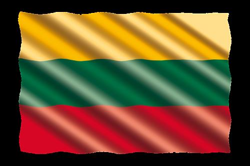 international flag lithuania