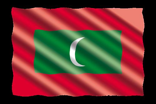 international flag maldives