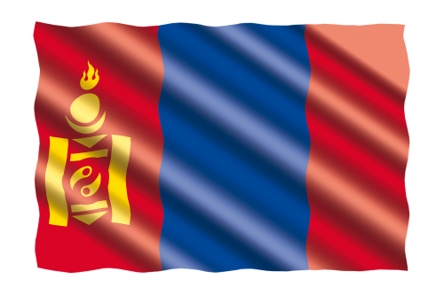 international flag mongolia