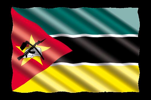 international flag mozambique