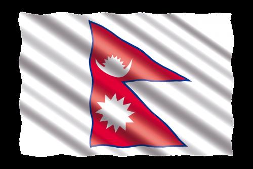tarptautinis,vėliava,Nepalas