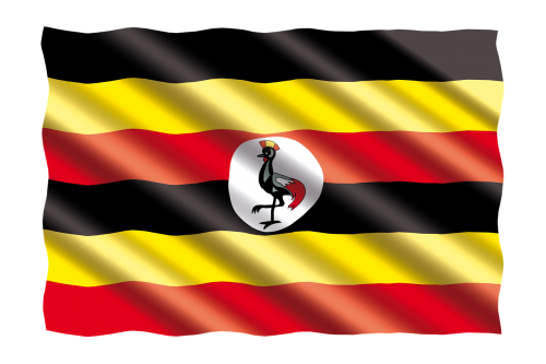 international flag uganda