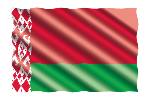 international flag belarus