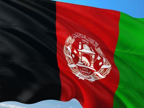 international flag afghanistan