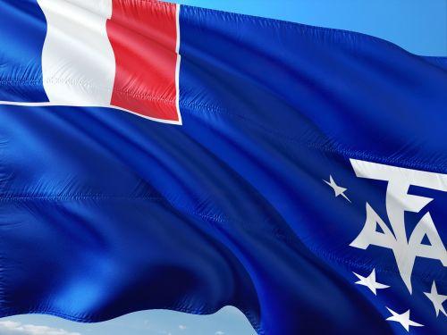 international flag adélie land