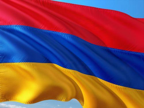 international flag armenia