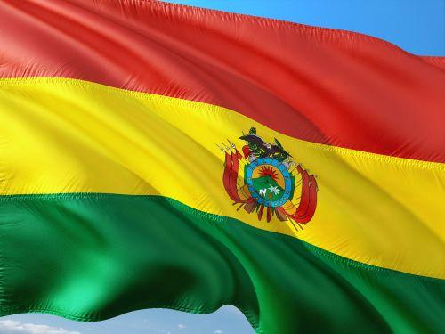 international flag bolivia