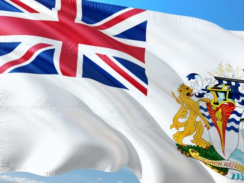 international flag british-antarctic-territory