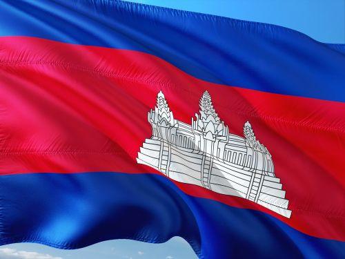 international flag cambodia