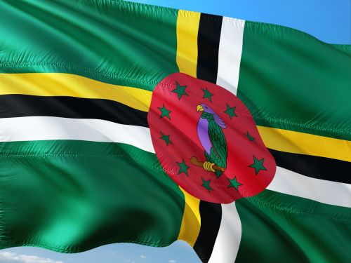 international flag dominica