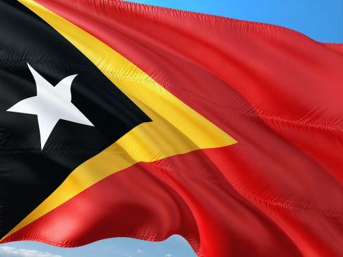 international flag east timor