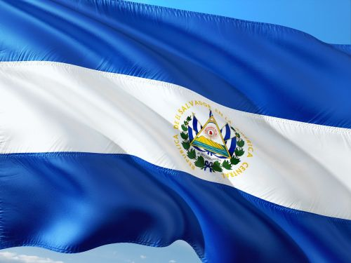 international flag el salvador