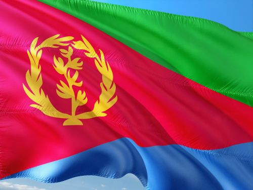 international flag eritrea