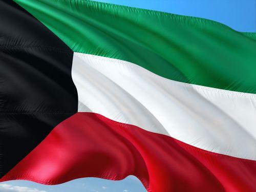 international flag kuwait