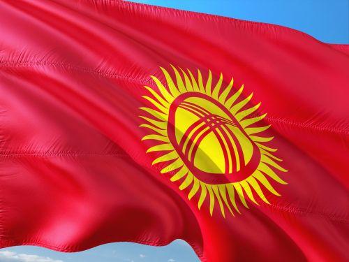 international flag kyrgyzstan