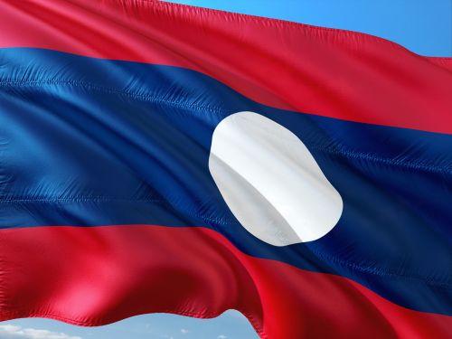 international flag laos