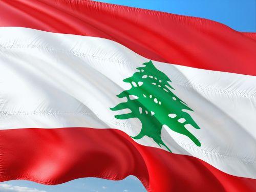 international flag lebanon