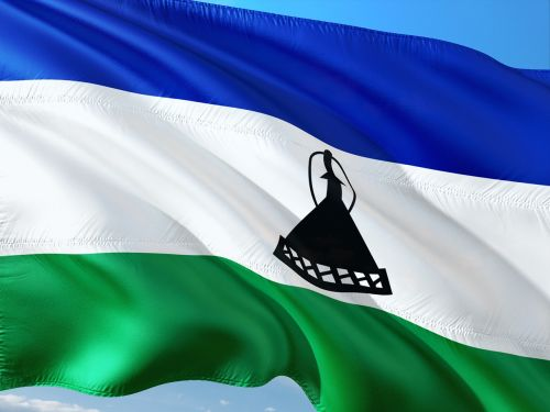 international flag lesoto